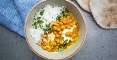 curry garbanzos